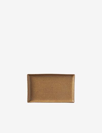 Plate Eli - tarjoiluastiat ja -lautaset - brown