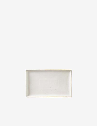 Plate Eli - tarjoiluastiat ja -lautaset - off-white