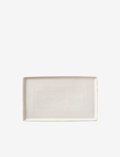 Plate Eli - tarjoiluastiat ja -lautaset - soft light grey