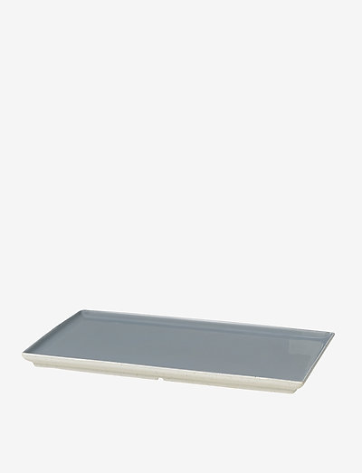 Plate Eli - tarjoiluastiat ja -lautaset - soft blue