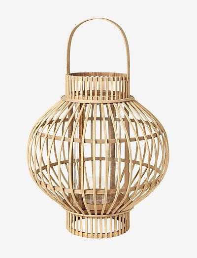 Lantern Globus - ulkovalaistus - natural til Ø5cm lys