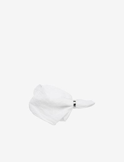GRACIE Napkin - osta hinnan perusteella - pure white