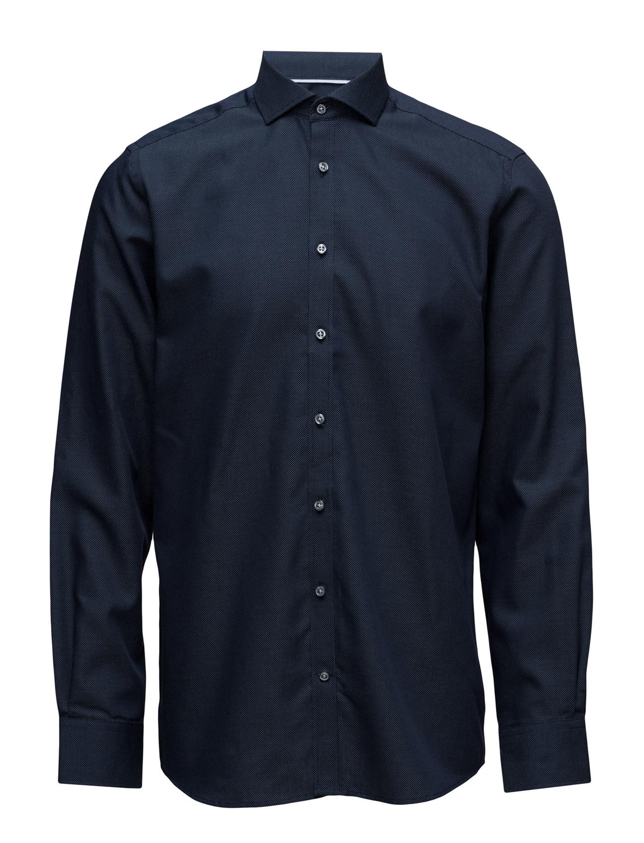 ed5dcc9d78f Logan, Shirt Modern (Navy Cutaway) (£69.95) - Bruun & Stengade ...