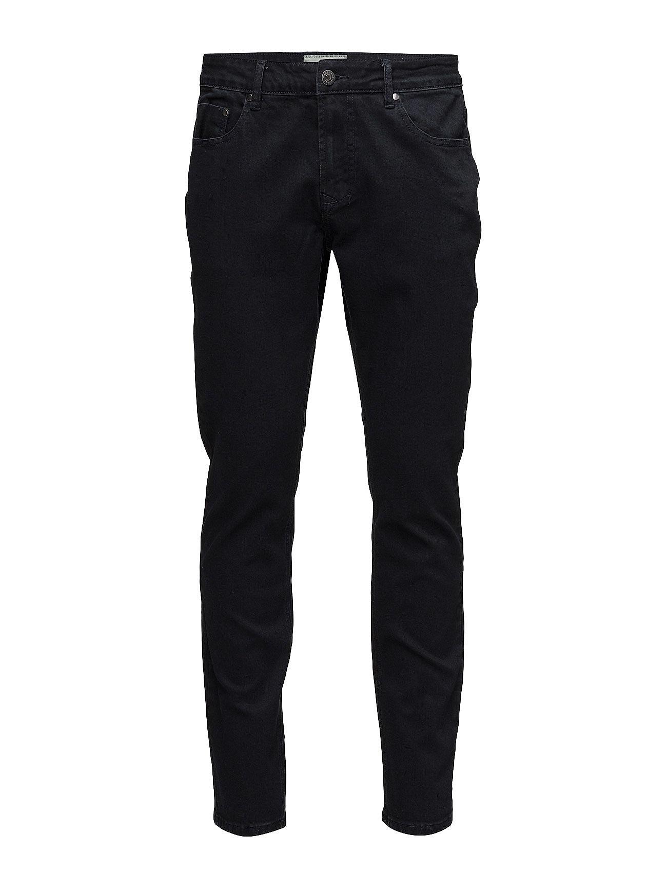 Bruun & Stengade - Neal - džinsa bikses ar tievām starām - dark vintage - 1