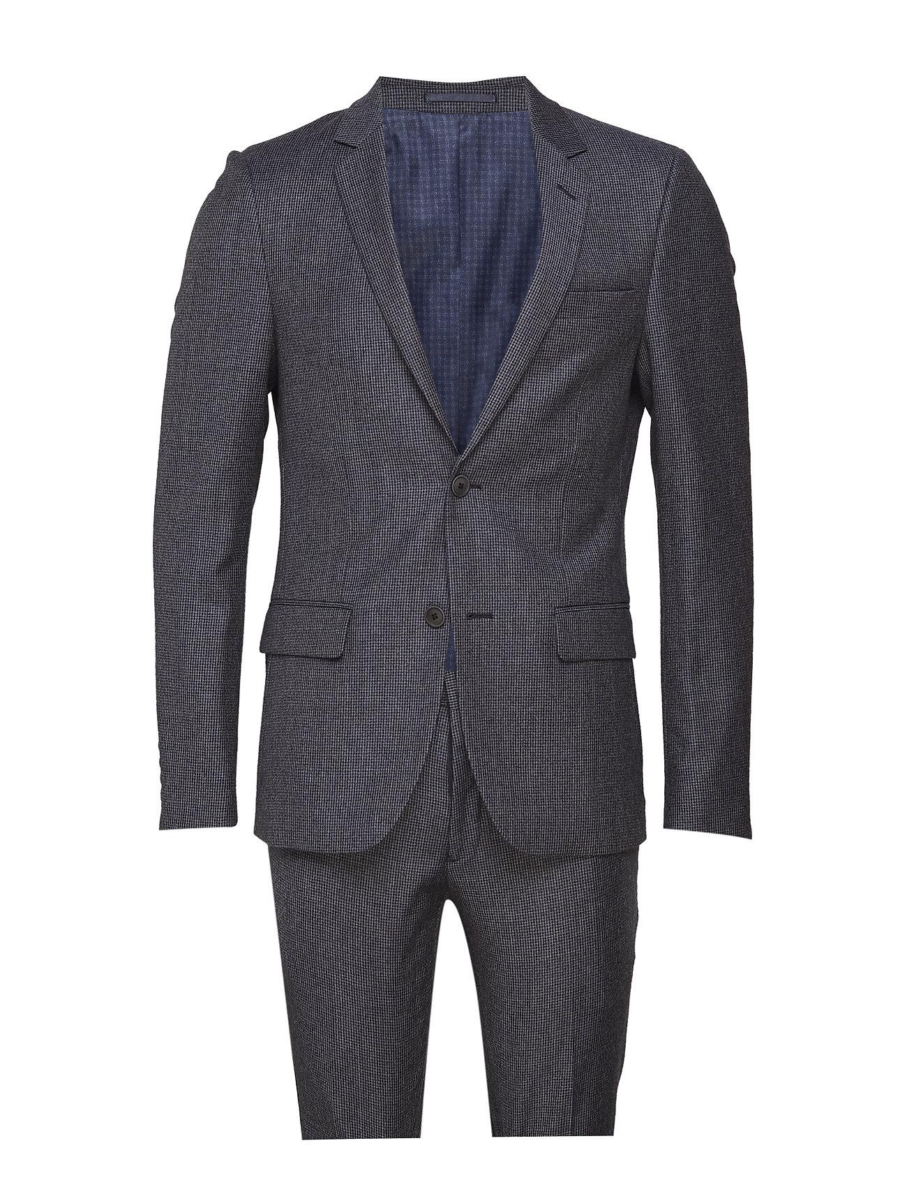 Bruun & Stengade BS Dallas, Suit Set - DARK GREY