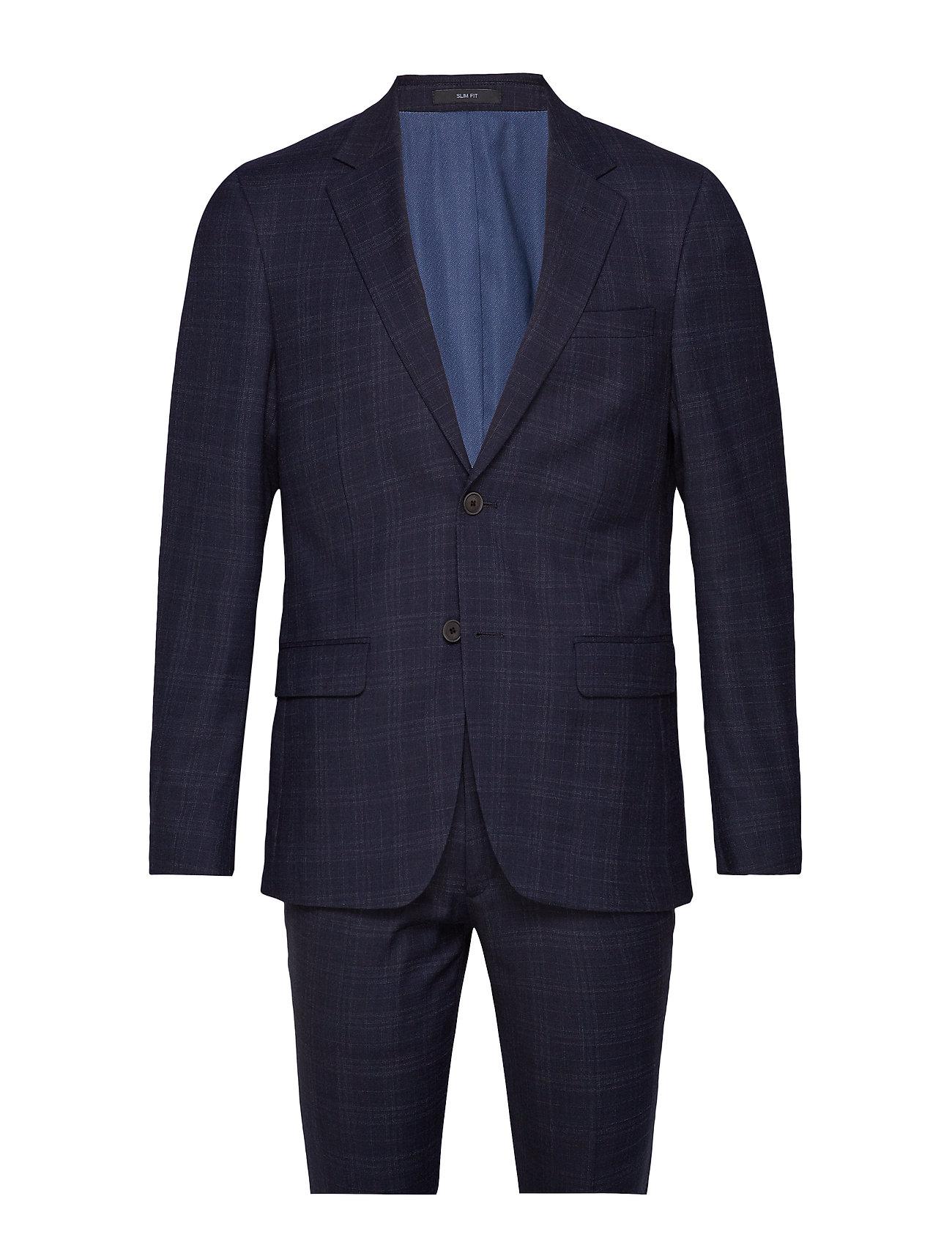 Bruun & Stengade Matthew Slim, Suit Set - NAVY