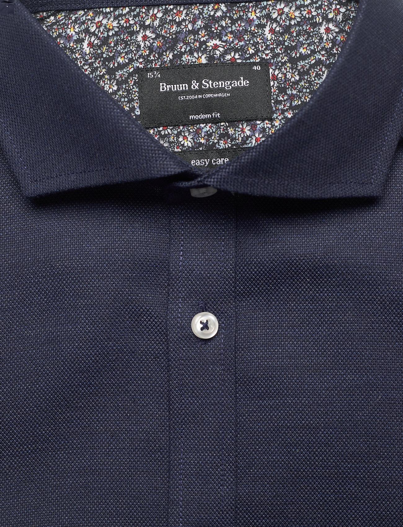 Bruun & Stengade Nelson - Skjorter NAVY - Menn Klær