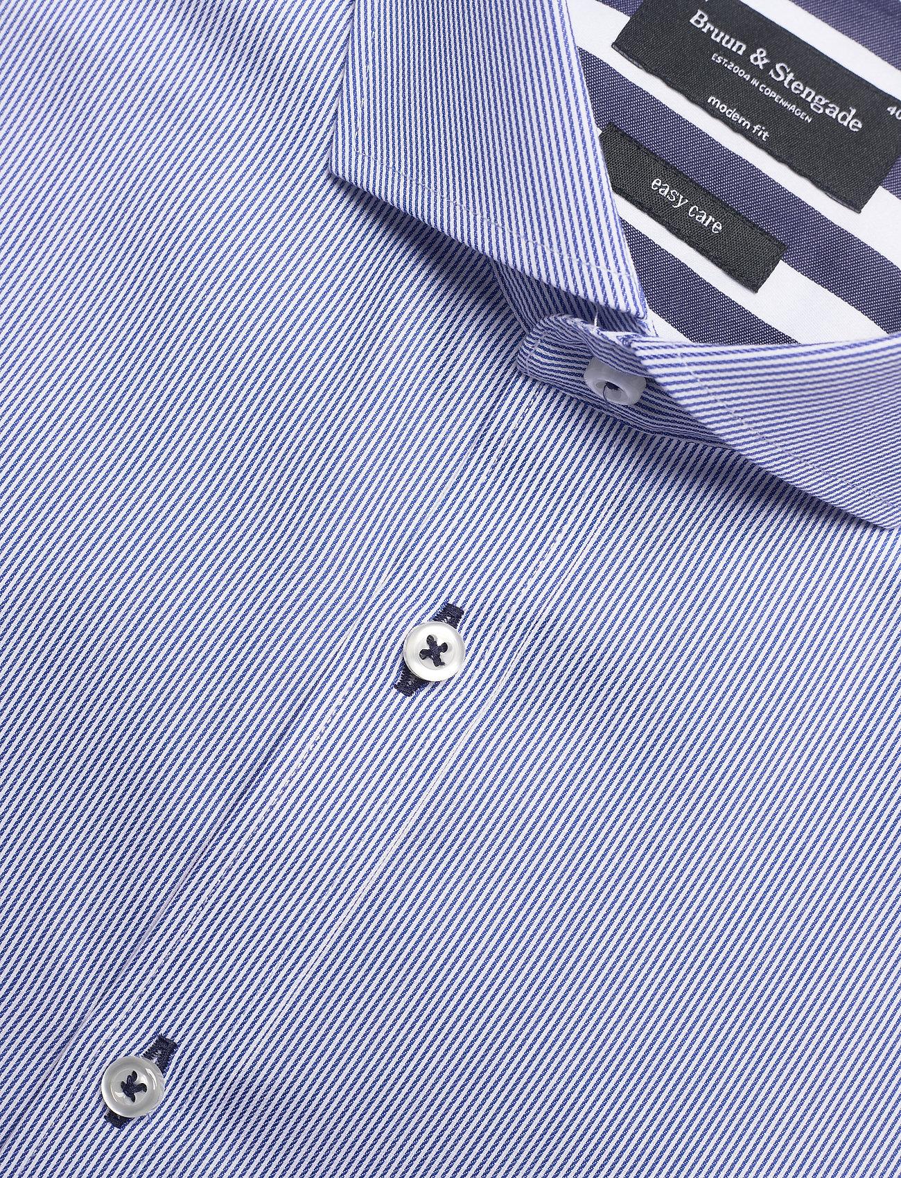 Bruun & Stengade BS Niles - Skjorter BLUE - Menn Klær