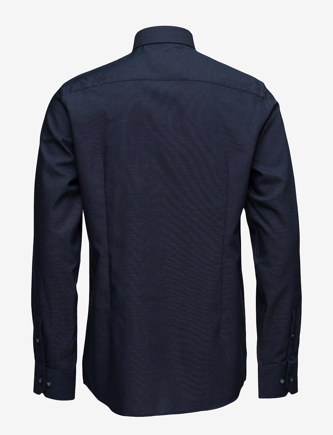 Bruun & Stengade Logan - Skjorter NAVY CUTAWAY - Menn Klær
