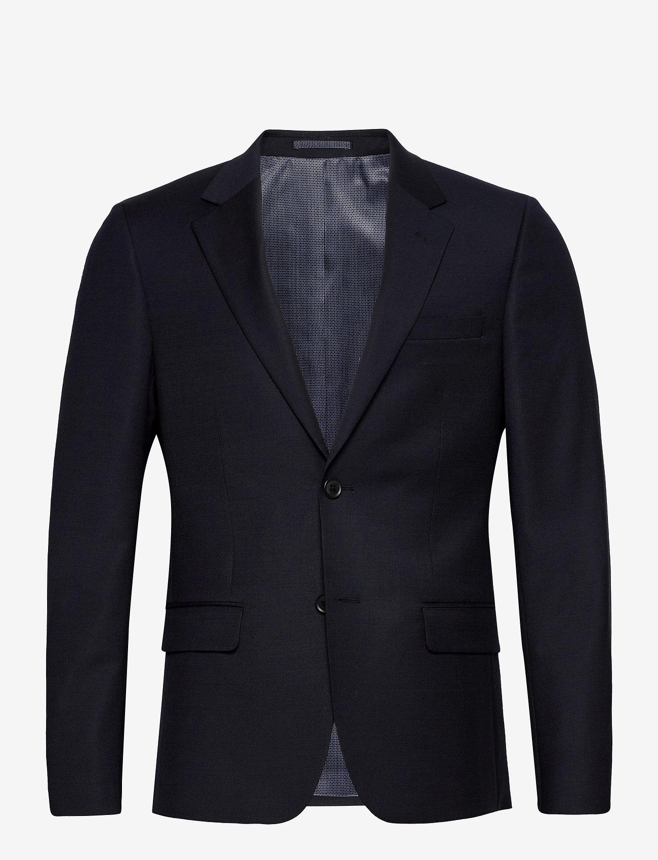 Bruun & Stengade - Hardmann, Suit Blazer - single breasted blazers - navy - 0