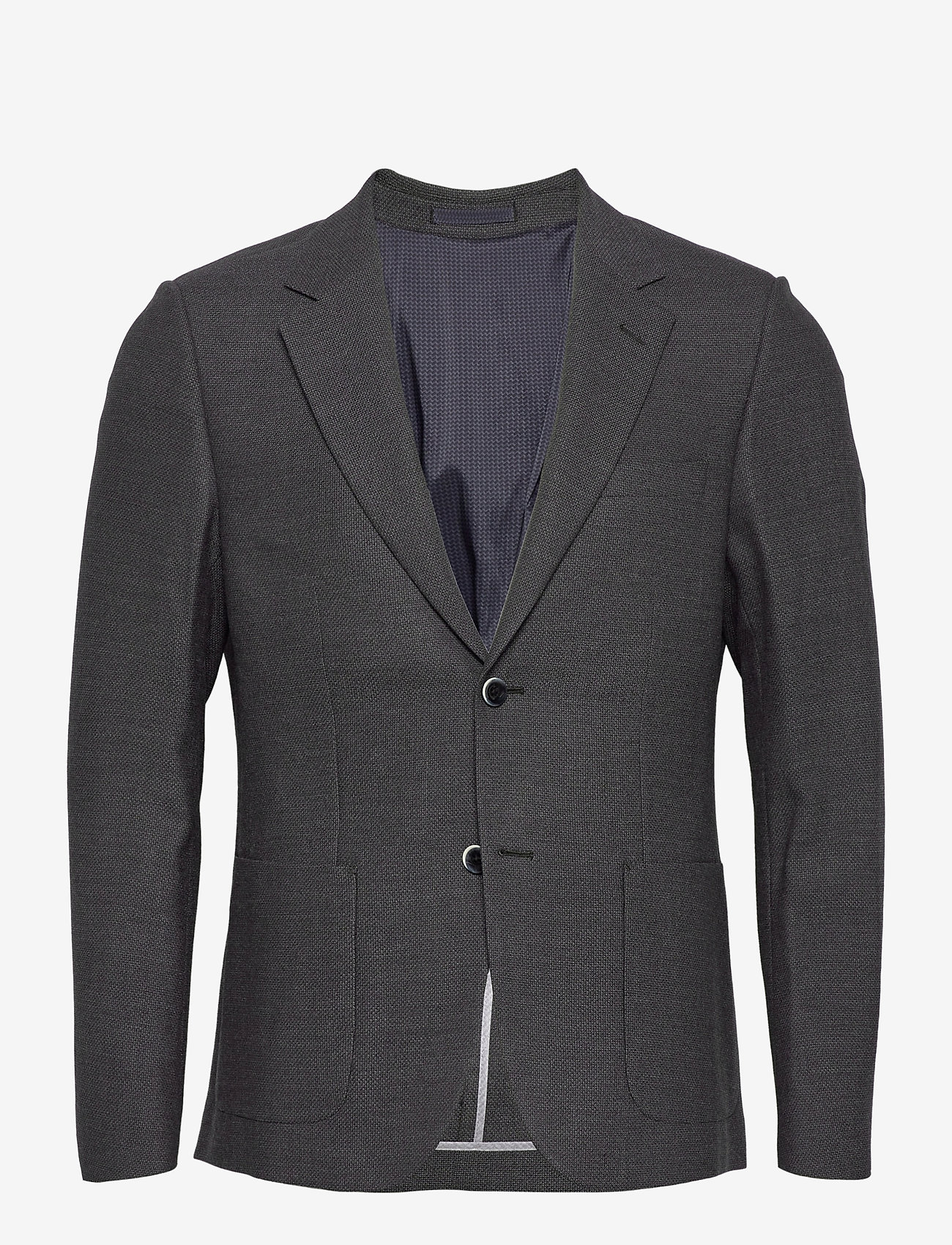 Bruun & Stengade - Lebron - single breasted blazers - grey - 0