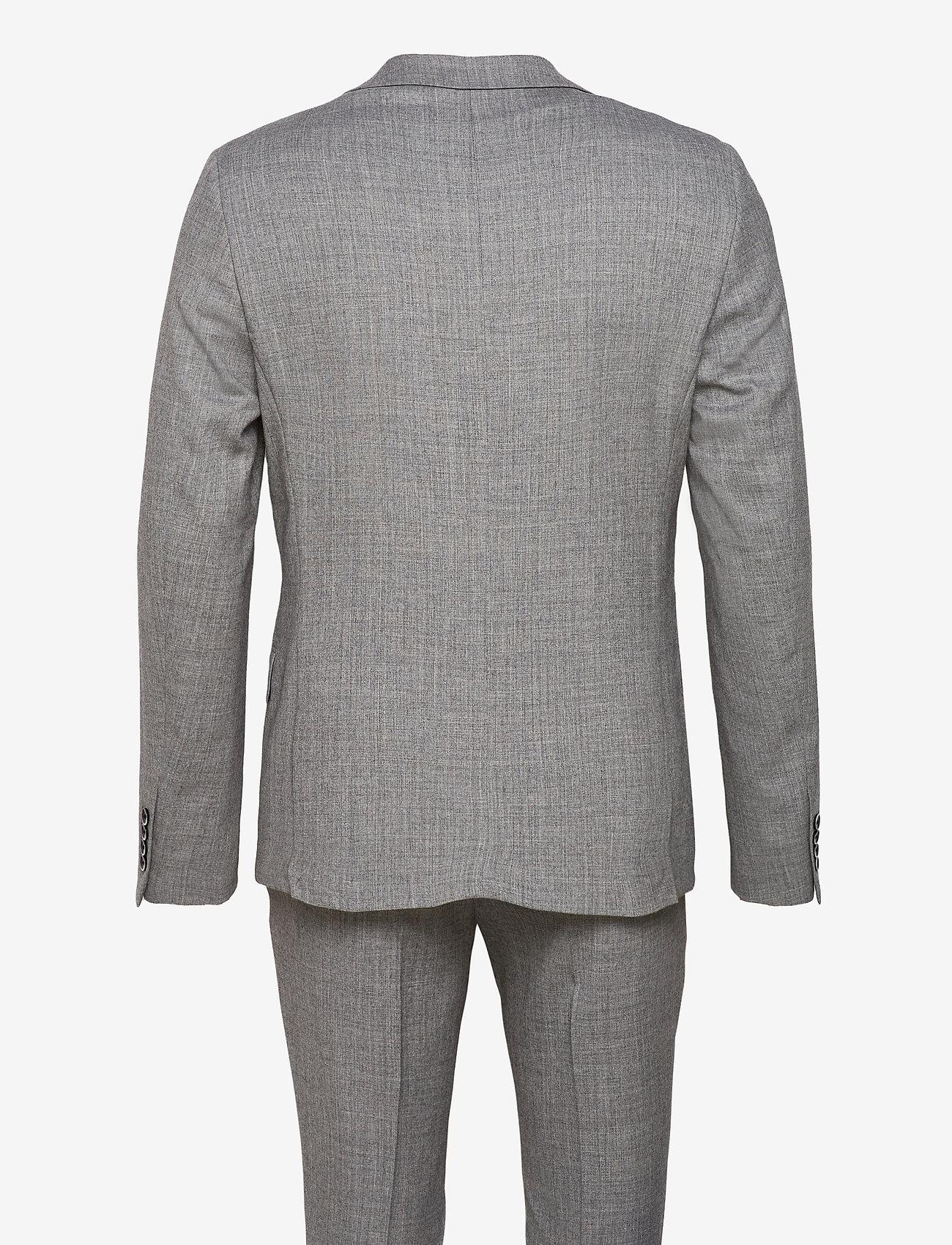 Bruun & Stengade - Mons, Suit Set - enkeltkneppede dresser - grey - 1