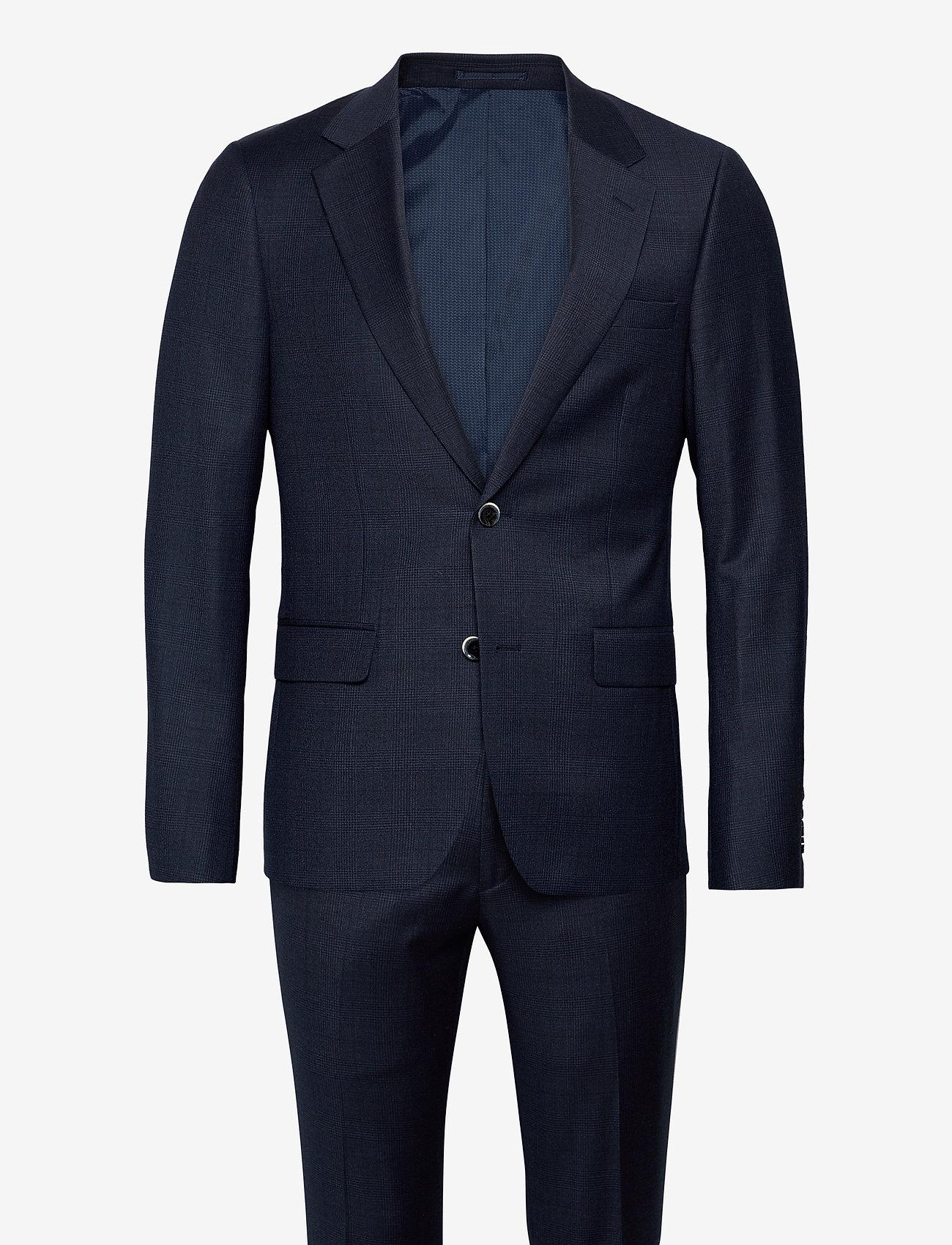 Bruun & Stengade - Josty, Suit Set - enkeltkneppede dresser - navy - 0