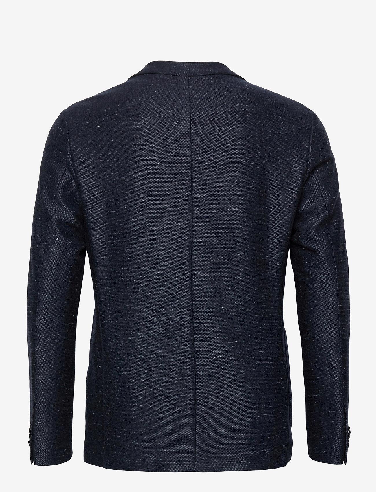 Bruun & Stengade - BS Barbaresco Tailored, Blazer - single breasted blazers - navy - 1