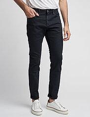 Bruun & Stengade - Neal - džinsa bikses ar tievām starām - dark vintage - 0