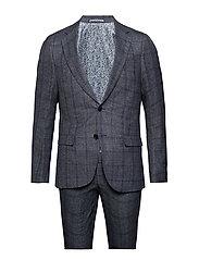 Nazorine, Suit Set - BLUE