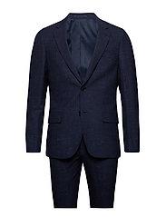 Sollozo, Suit Set - NAVY
