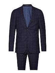 Matthew Slim, Suit Set - NAVY