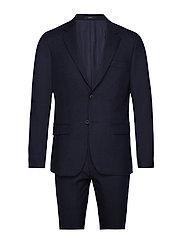 Toulouse Slim, Suit Set Kostym Blå BRUUN & STENGADE