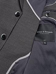 Bruun & Stengade - Lebron - single breasted blazers - grey - 4