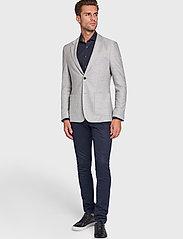Bruun & Stengade - BS Barbaresco Tailored, Blazer - single breasted blazers - grey - 0