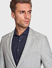 Bruun & Stengade - BS Barbaresco Tailored, Blazer - single breasted blazers - grey - 6