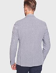 Bruun & Stengade - BS Milan - single breasted blazers - navy - 4