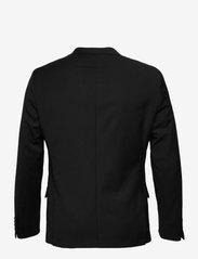 Bruun & Stengade - Hardmann, Suit Blazer - single breasted blazers - black - 1