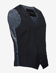 Bruun & Stengade - BS Hardmann - waistcoats - black - 2