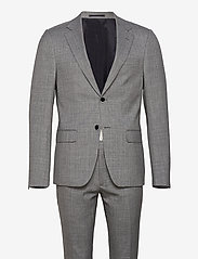 Bruun & Stengade - Mons, Suit Set - enkeltkneppede dresser - grey - 0