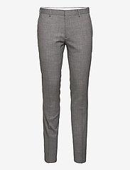 Bruun & Stengade - Mons, Suit Set - enkeltkneppede dresser - grey - 2