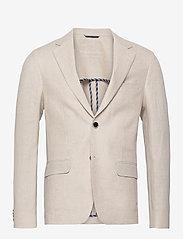 Bruun & Stengade - BS Naples, Slim - single breasted blazers - sand - 1