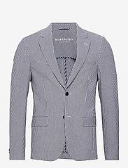 Bruun & Stengade - BS Milan - single breasted blazers - navy - 1