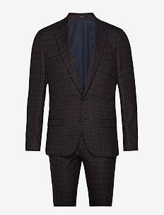 Woody Slim, Suit Set - DARK BROWN