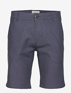 BS Best Slim - tailored shorts - blue