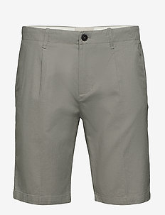 BS Clean slim - tailored shorts - grey