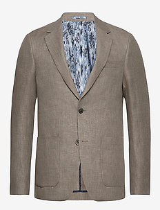 BS Trentino Slim - single breasted blazers - sand