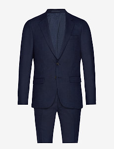 BS Abruzzo Slim, Suit - single breasted suits - navy