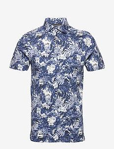 BS Hawaii - krótki rękaw - blue