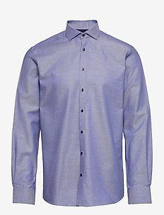 Unser - basic overhemden - blue