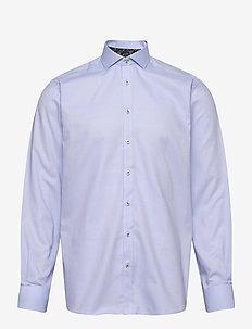 Fosu - basic-hemden - light blue