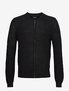 BS Carlos - basic knitwear - charcoal