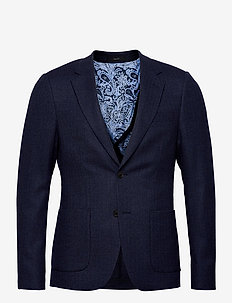 Charles - blazers à boutonnage simple - navy