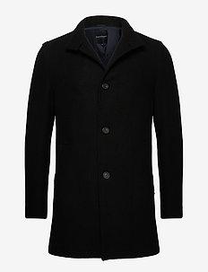 Alberta - manteaux de laine - black