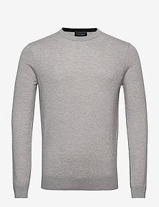 Ponte - podstawowa odzież z dzianiny - grey