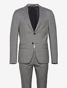 Mons, Suit Set - single breasted suits - grey