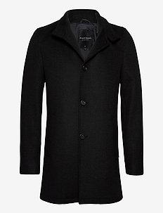 Alberta - manteaux de laine - charcoal