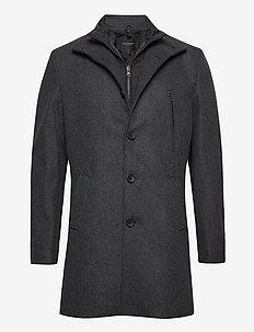 Ontario - manteaux de laine - charcoal