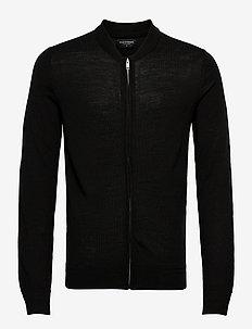 Viggo - podstawowa odzież z dzianiny - black