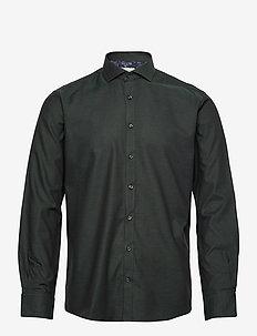 Case - chemises basiques - dark green
